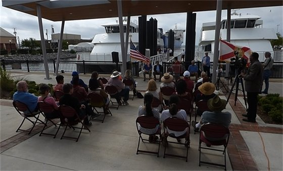 Ferry terminal grand opening