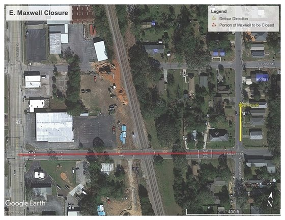 Image of the Maxwell Street detour