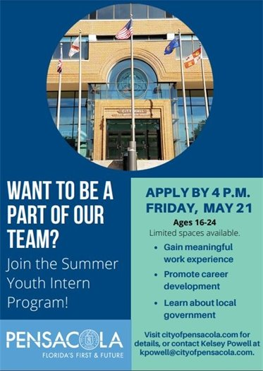 Join the Summer Youth Intern Program!