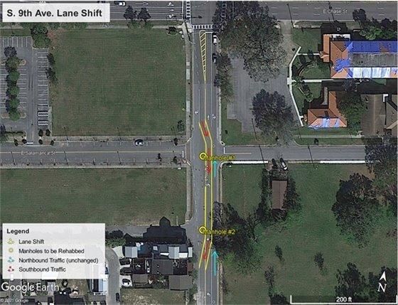 9th avenue map