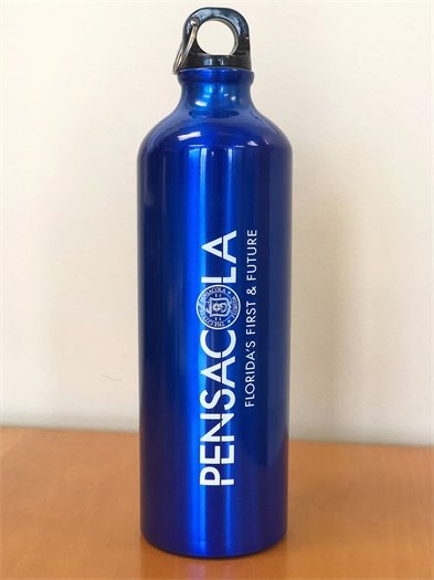 City of Pensacola reusable water bottle