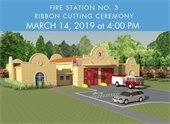 rendering of fire station