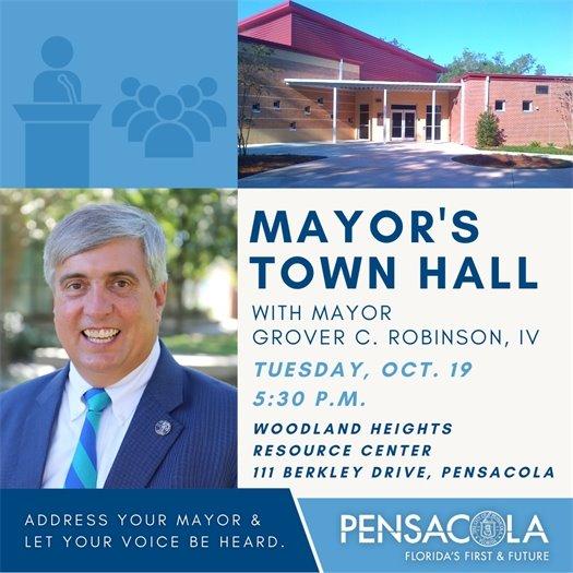 Mayor's town hall meeting