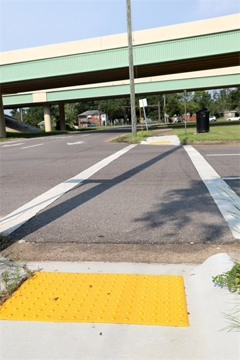 ADA sidewalk repairs at Hayne Street and Maxwell Street