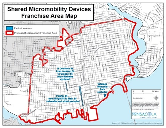 Micromobility Area Map
