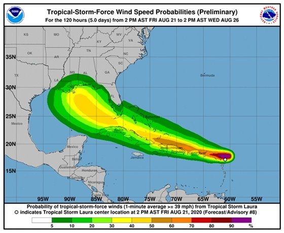 Tropical Storm Laura 3