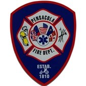 A photo of pensacola fire department's badge