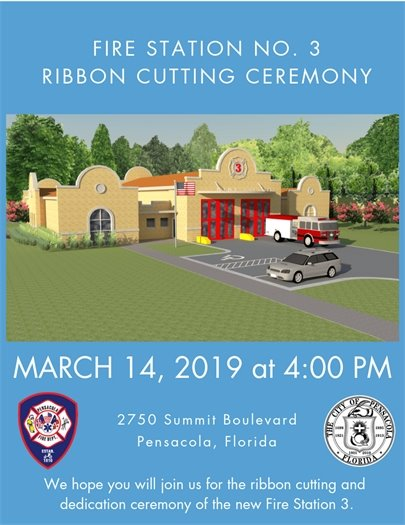Informational flier on the ribbon cutting event March 14