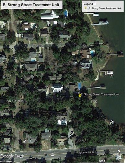 Scott Street stormwater map