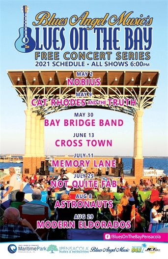 2021 Blues Angle Music's Blues on the Bay Free Concert Series