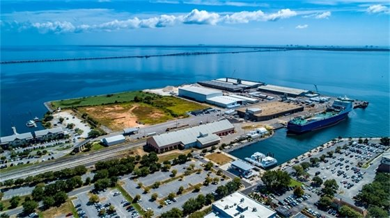 Port of Pensacola aerial