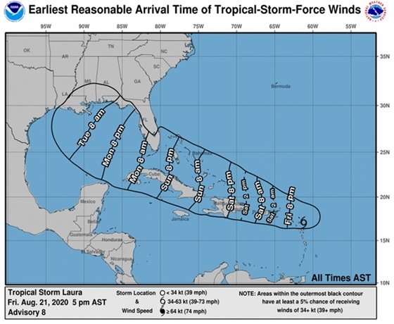 Tropical Storm Laura 2