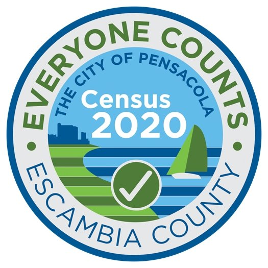 Everyone Counts Census 2020 logo