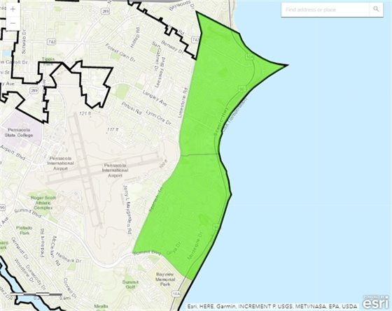 October neighborhood cleanup map