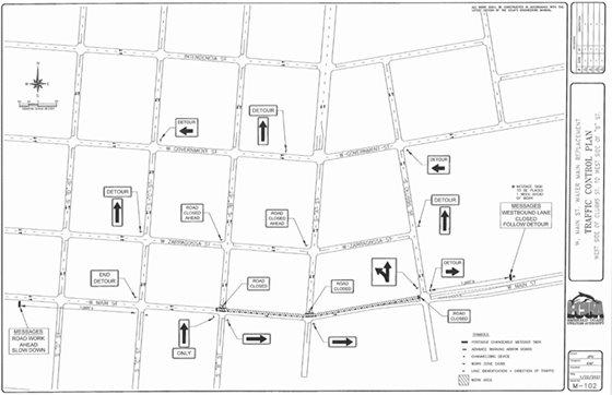 ECUA map - Main Street