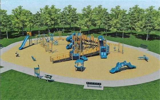 Hitzman-Optimist Park Playground Design