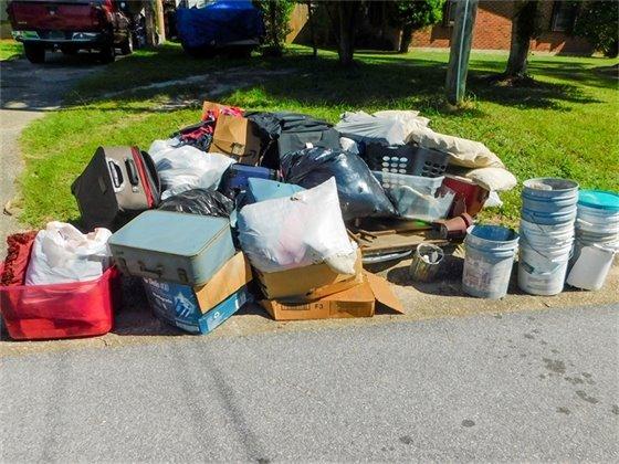 Bulk Waste from September 2021 Cleanup