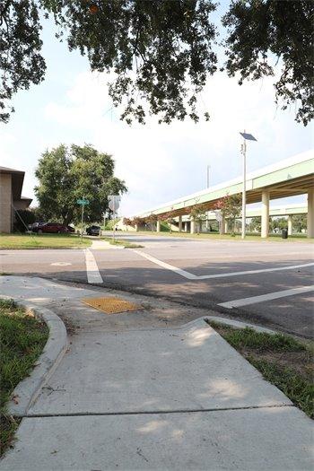 ADA sidewalk repairs at Hayne Street and Jordan Street