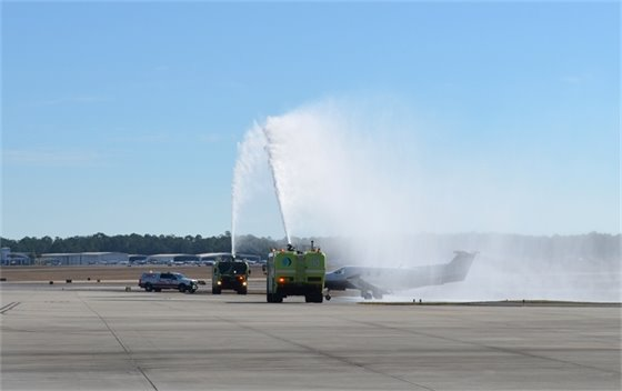 Water cannon for new boutique air flight
