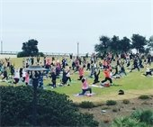 Yoga at Community maritime Park