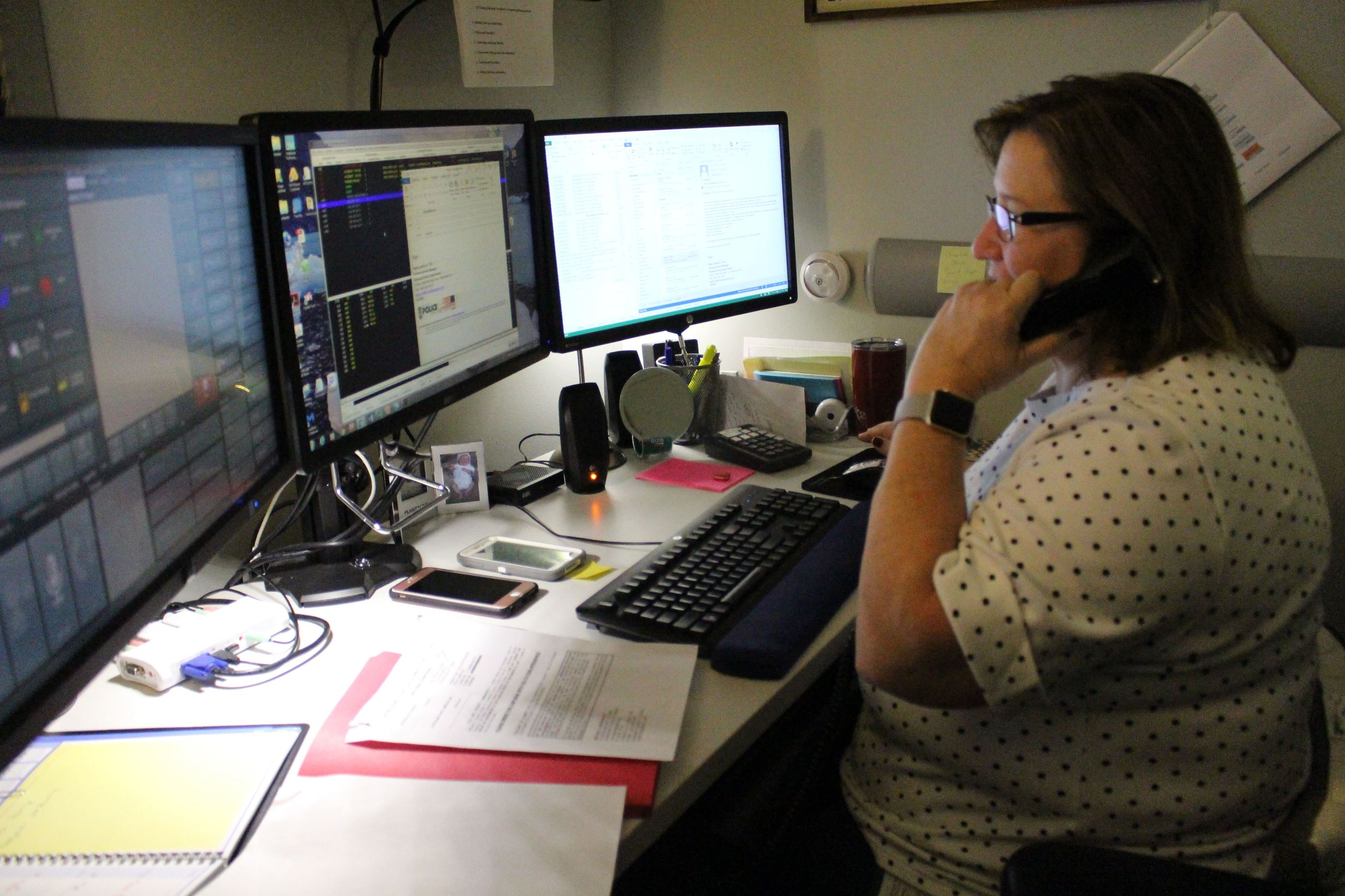 Dispatch Supervisor Hope Lunsford