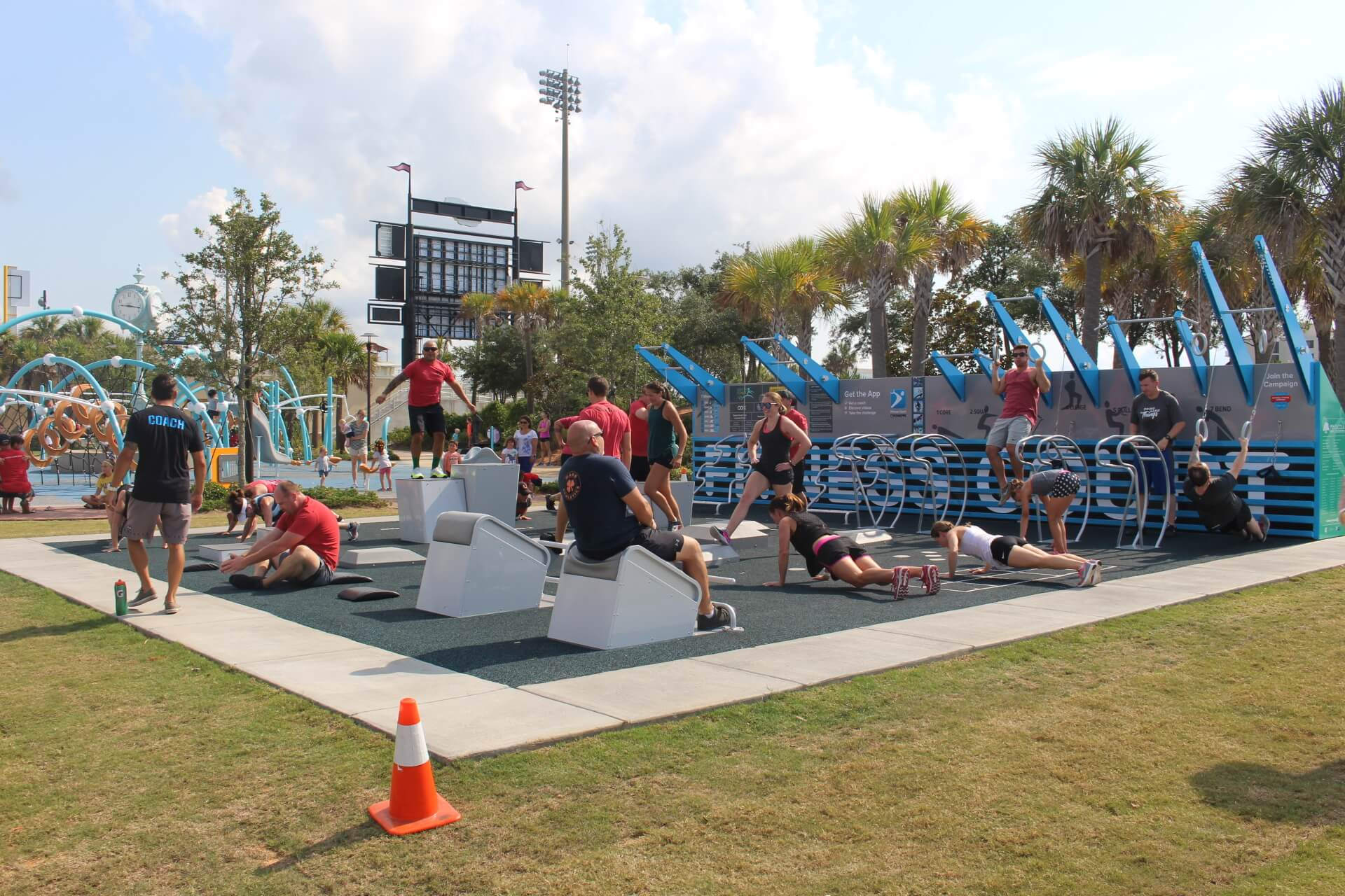Pensacola Leap Into Fitness Court