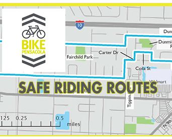 Bike Pensacola Safe Riding Routes