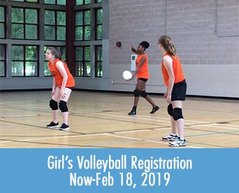 Girls Volleyball Registration