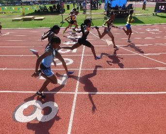 Mariah Harris and AAU Track and Field