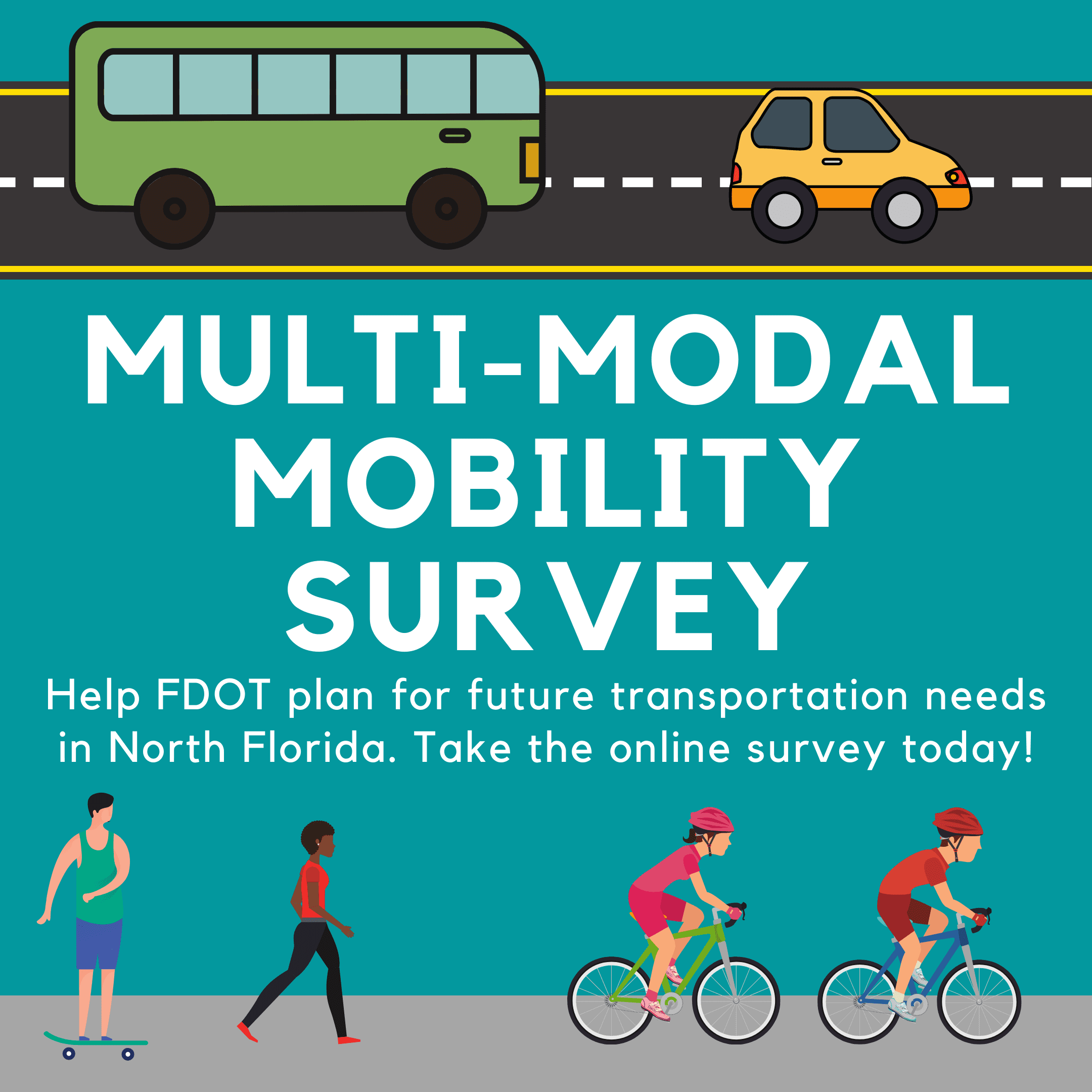 FDOT multi-modal mobility survey