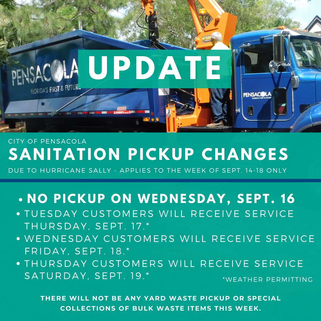 Copy of Sanitation pickup changes, hurricane closures (1)