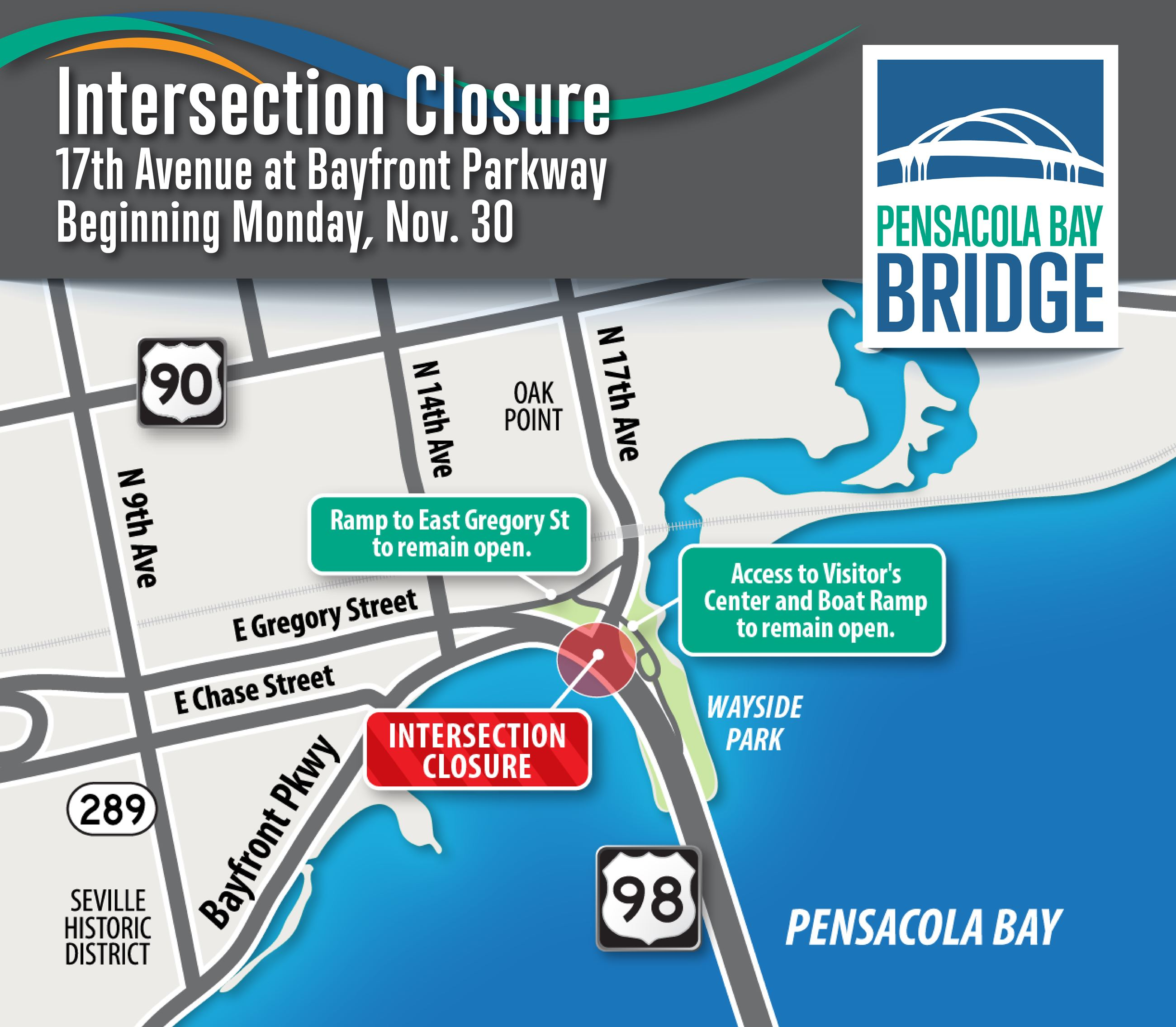 17th Avenue Closure Nov. 30