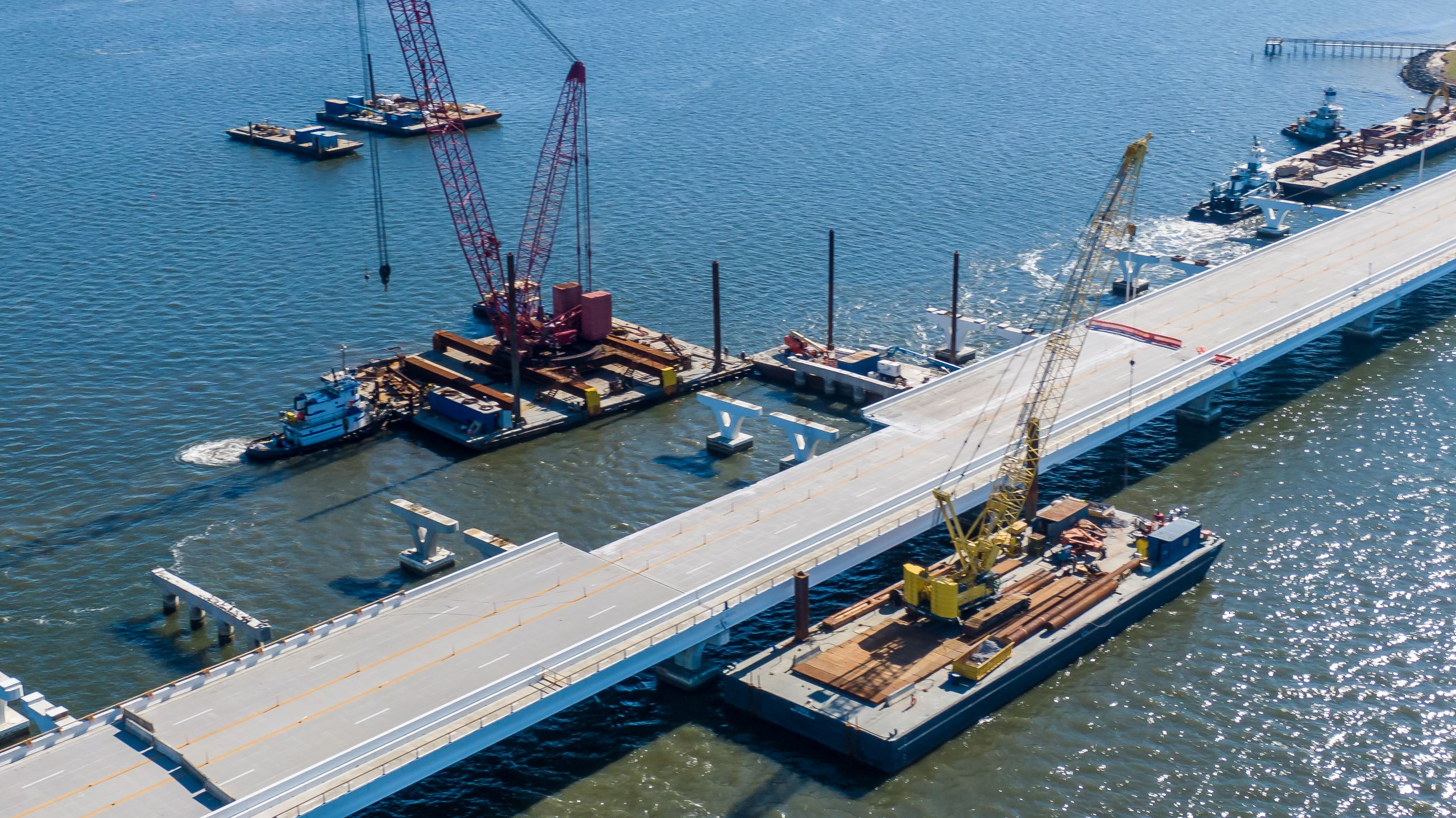 Pensacola Bay Bridge repairs