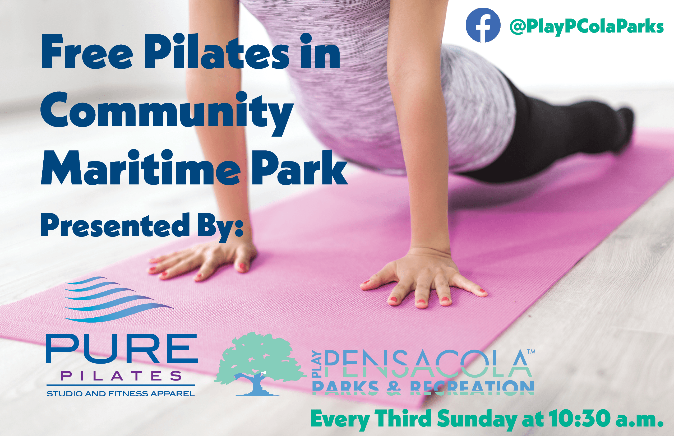 Free Pilates in Community Maritime Park