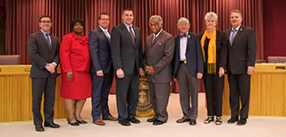 Members of the Pensacola City Council