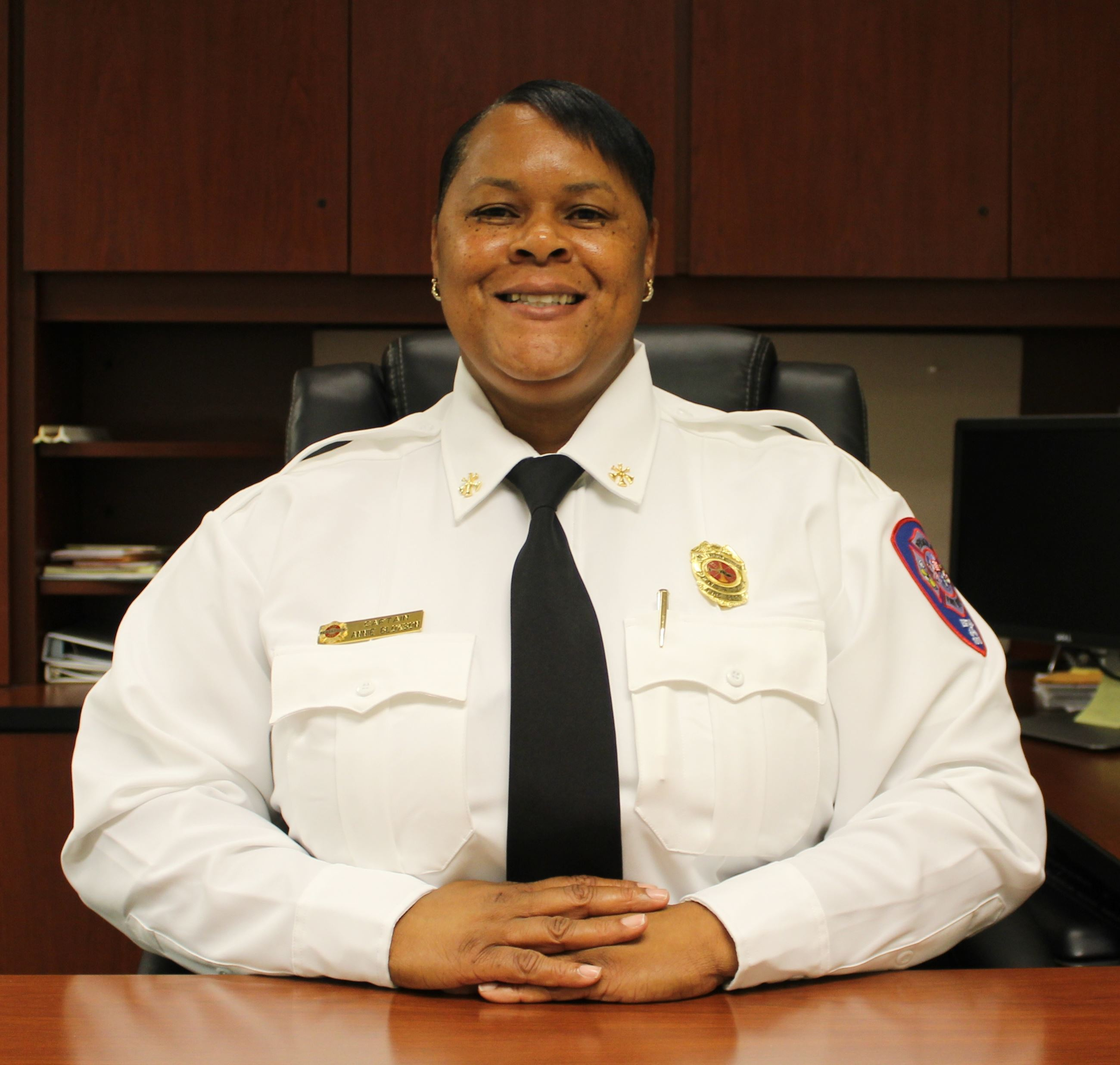 Battalion Chief Annie Bloxson