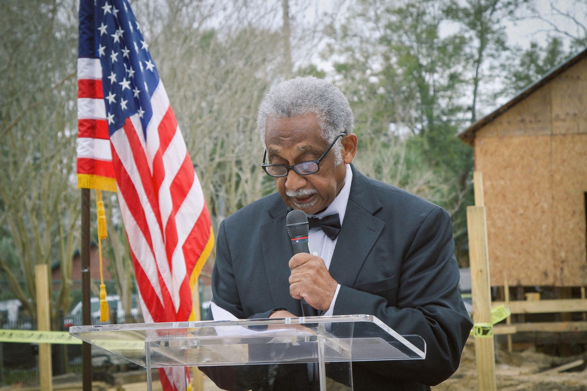 Councilman Wingate at Chappie James Ceremony
