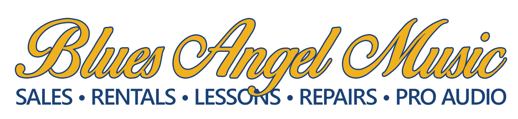 Blues Angel Music Logo