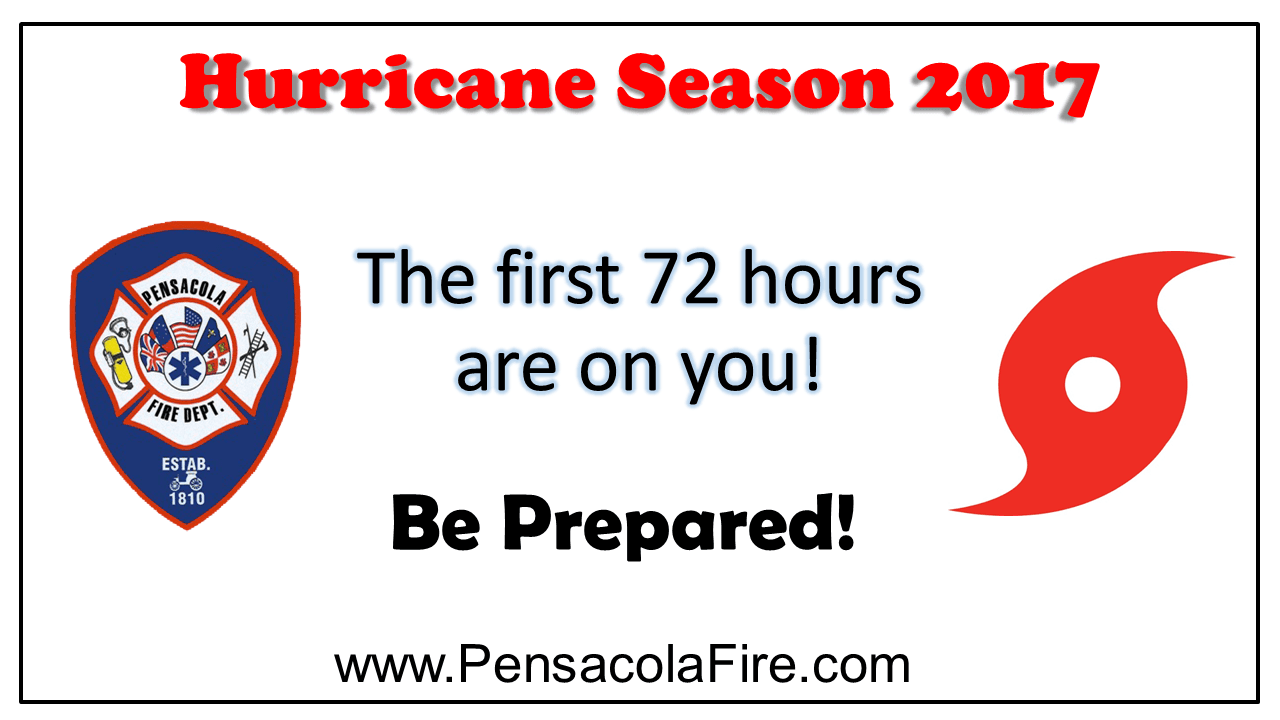 Hurricane Season - Public Announcement
