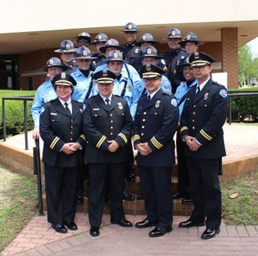 PPD Honor Guard with command staff