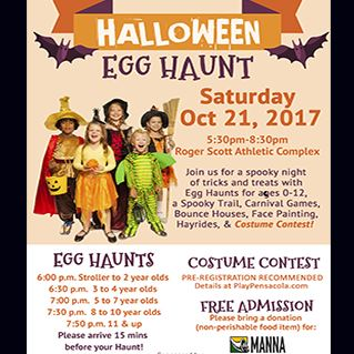 Halloween Egg Haunt at the Roger Scott Athletic Complex
