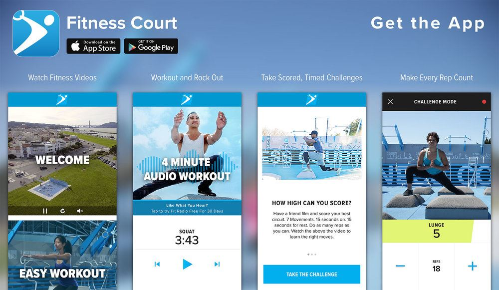 Fitness Court App Image