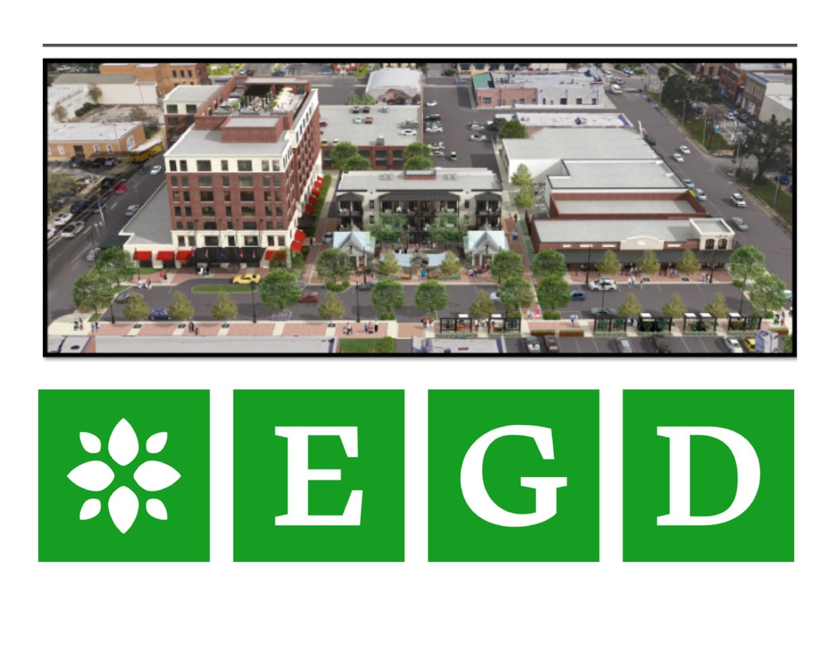 Conceptual rendering for East Garden District project