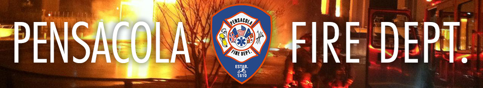 Pensacola Fire Department Banner