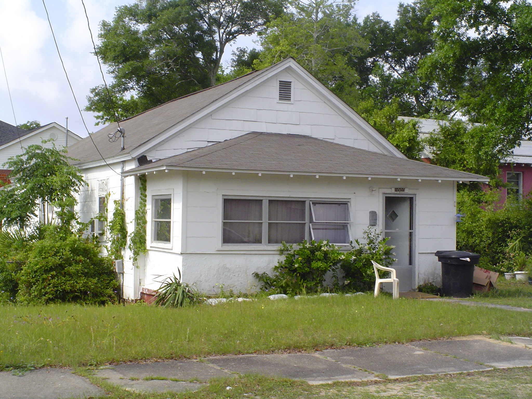 House Before Repairs