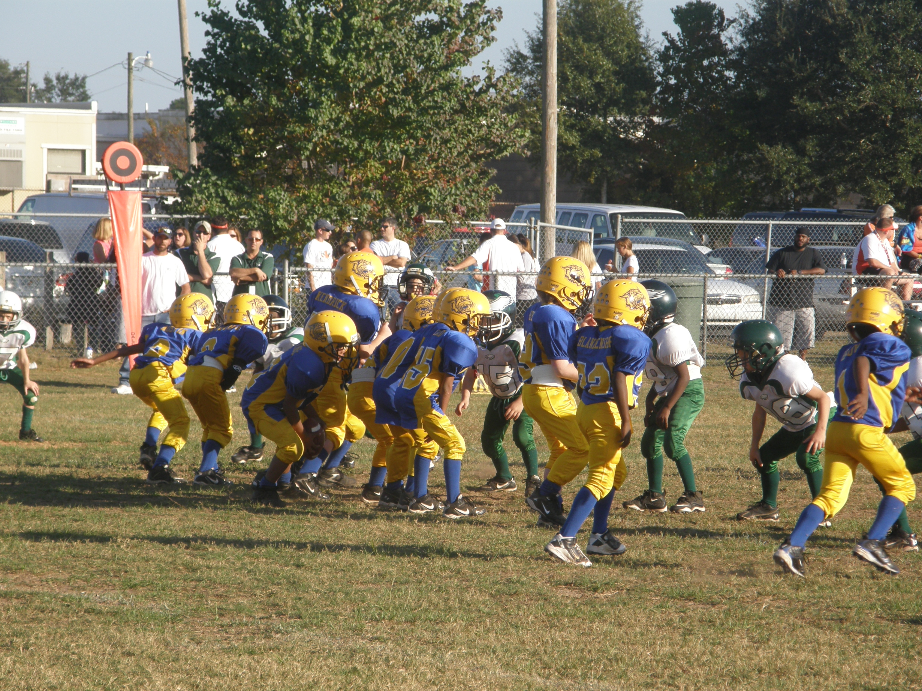 Youth Football Players