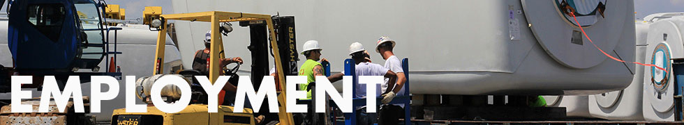 Port Employment Information Header