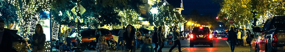 Christmas Lights in Downtown Pensacola