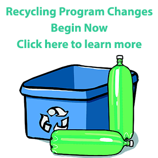 Recycling Changes Begin Immediately Click Banner for Details