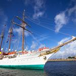 Spanish tall ship JUAN SEBASTIAN de ELCANO No 8